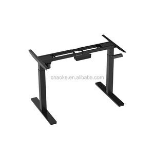 office furniture electronic height adjustable sit to stand table stand up table