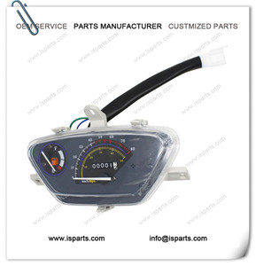 Motorcycle speed timer instrument gauges speedometer