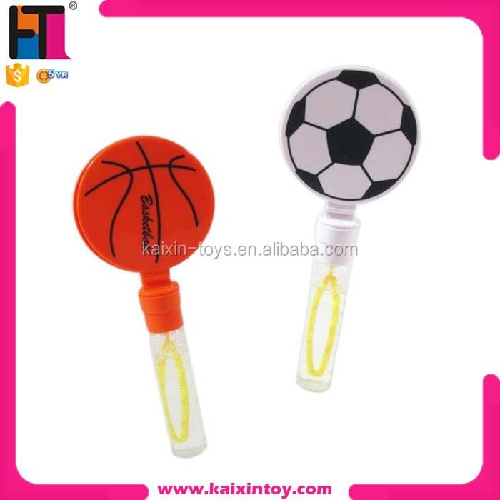 Basketball Football Shape Cheap Toys Bubble Water Bubble Wand ...