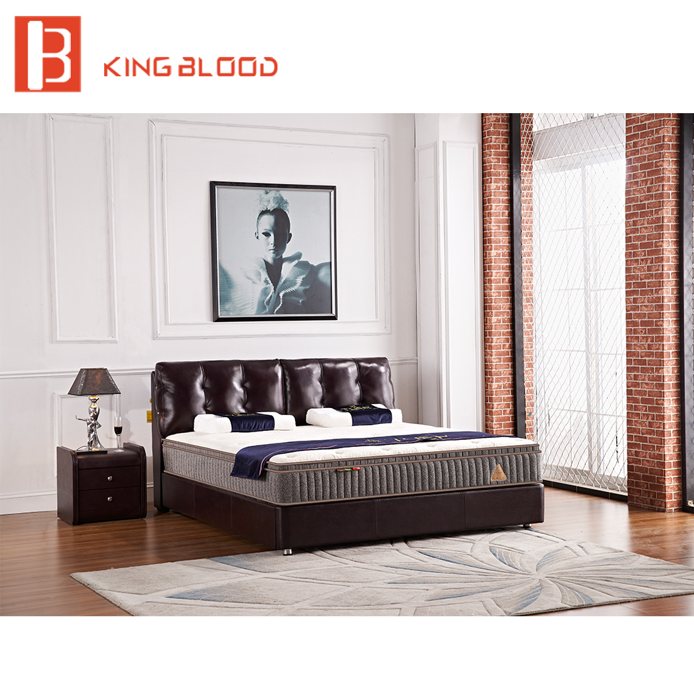 Brown Leather Beds, Brown Leather Beds Suppliers and Manufacturers ...