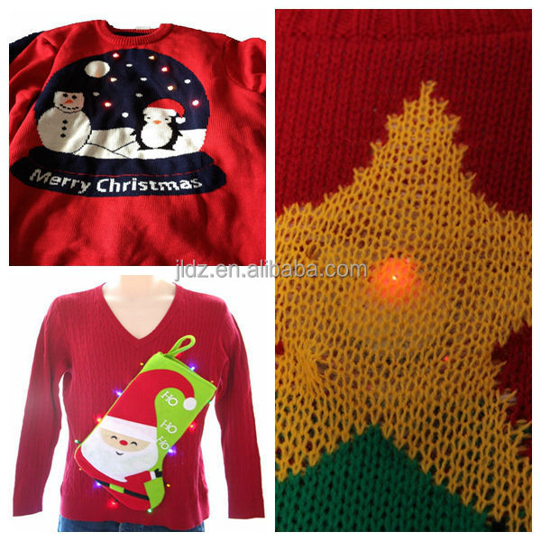 NEW WOMENS LADIES KNITTED GINGERBREAD MAN XMAS NOVELTY CHRISTMAS TOP JUMPER