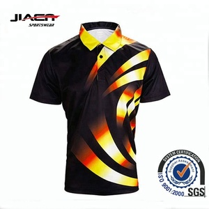 wholesale cheap price new design custom 2018 full sublimation mens polo shirt t shirt