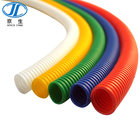 corrugated green plastic pipe sizes/for sale