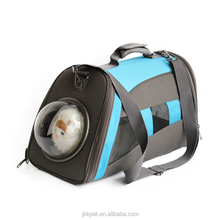 Lightweight breathable capsule soft sided cat/dog comfort travel tote bag pet cat carrier