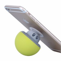 Silicone Round Mushroom Shape Bluetooth Speaker With Suction Cup ...
