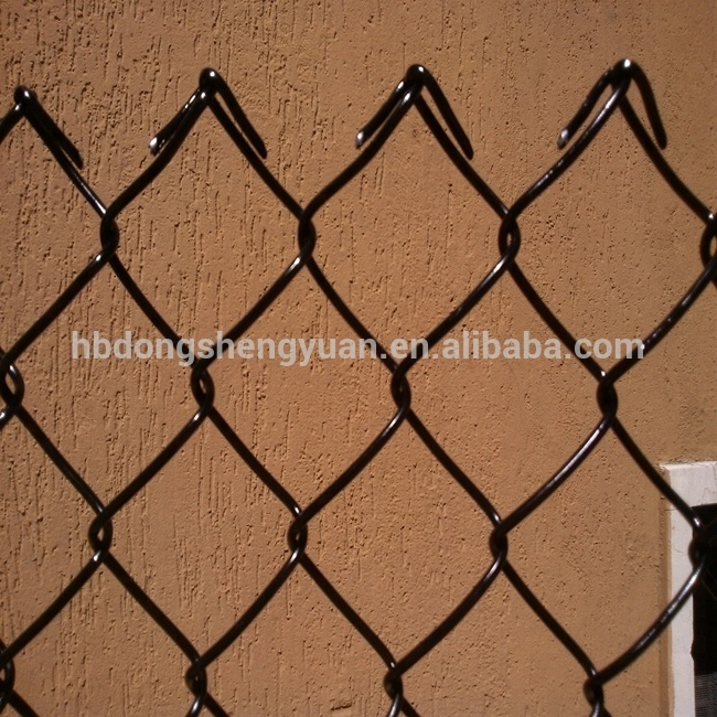 3 5mm Wire Pvc Coated Black Chain Link