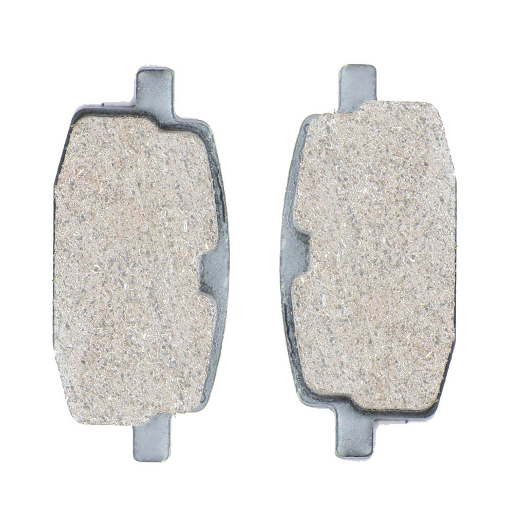 CNBK Front Brake Shoe Pads Semi-met fit for SHE-LUNG Street Bike 50 Falcon 97 &up 1997 &up 1 Pair(2 Pads)
