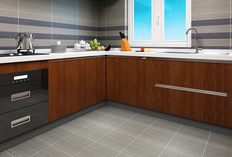 300x300 Black Matte Anti Slip Ceramic Floor Tile Porcelain ...