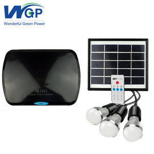 Portable Solar Indoor Lights Lighting System For Indoor