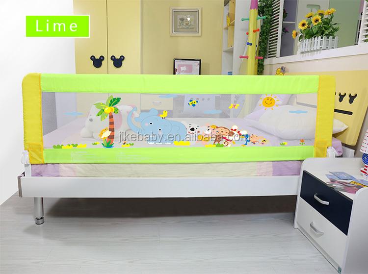 Swing Down Bedrail Bed Rail Toddler Kids Child Safety Folding Net Guard