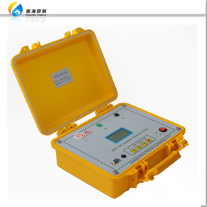 high voltage laboratory portable 5000 Volt meger meter insulation resistance tester