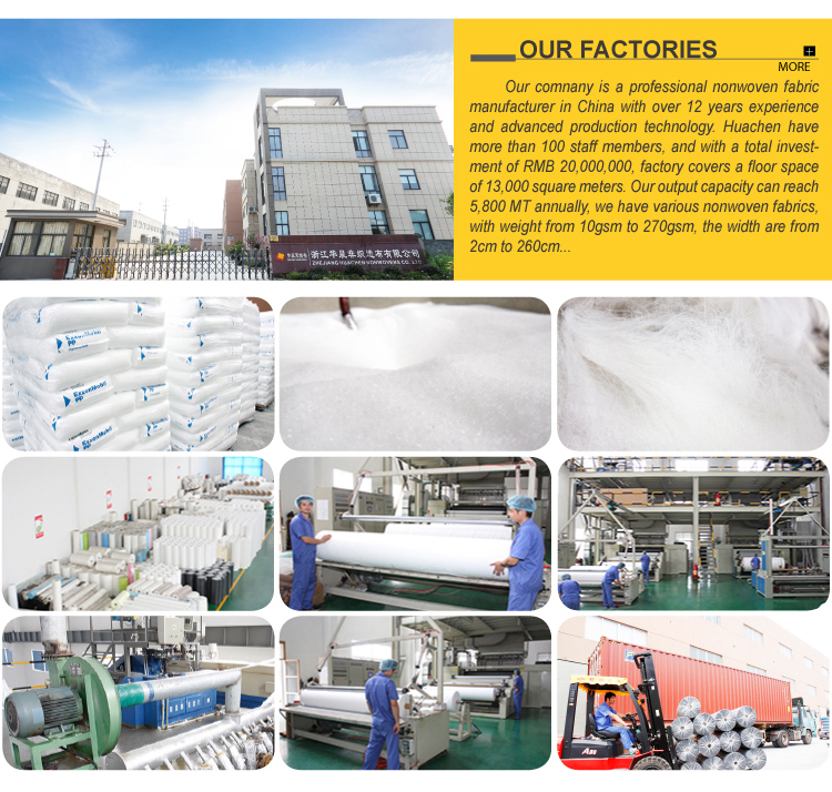 China Fábrica Melhor Preço TNT Tecido Não Tecido Não Tecido/PP Saco de Matérias-primas/Bond Girada Tecido Não Tecido