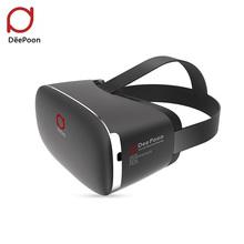 DeePoon E2 3D Virtual Reality Glasses Display 3D VR Glasses Video 1080P AMOLED Screen 2BG/8GB 75HZ API VR Games for Computer