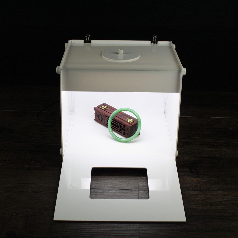 buy led photo studio professional portable 9 39 39 inch super mini kit photo. Black Bedroom Furniture Sets. Home Design Ideas