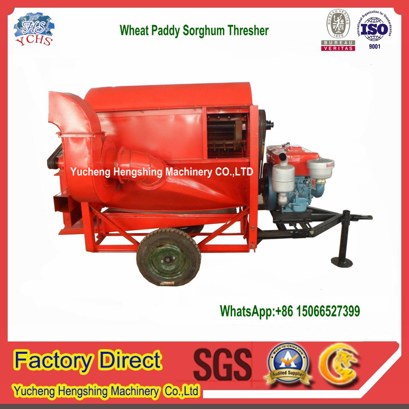 New design mini wheat thresher machine rice thresher