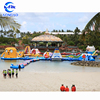 Aqua inflatable water game Inflatable Waterpark Floating Playground