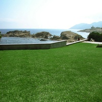 Hot sale 20mm waterproof PPE material artificial grass landscape for balcony decoration