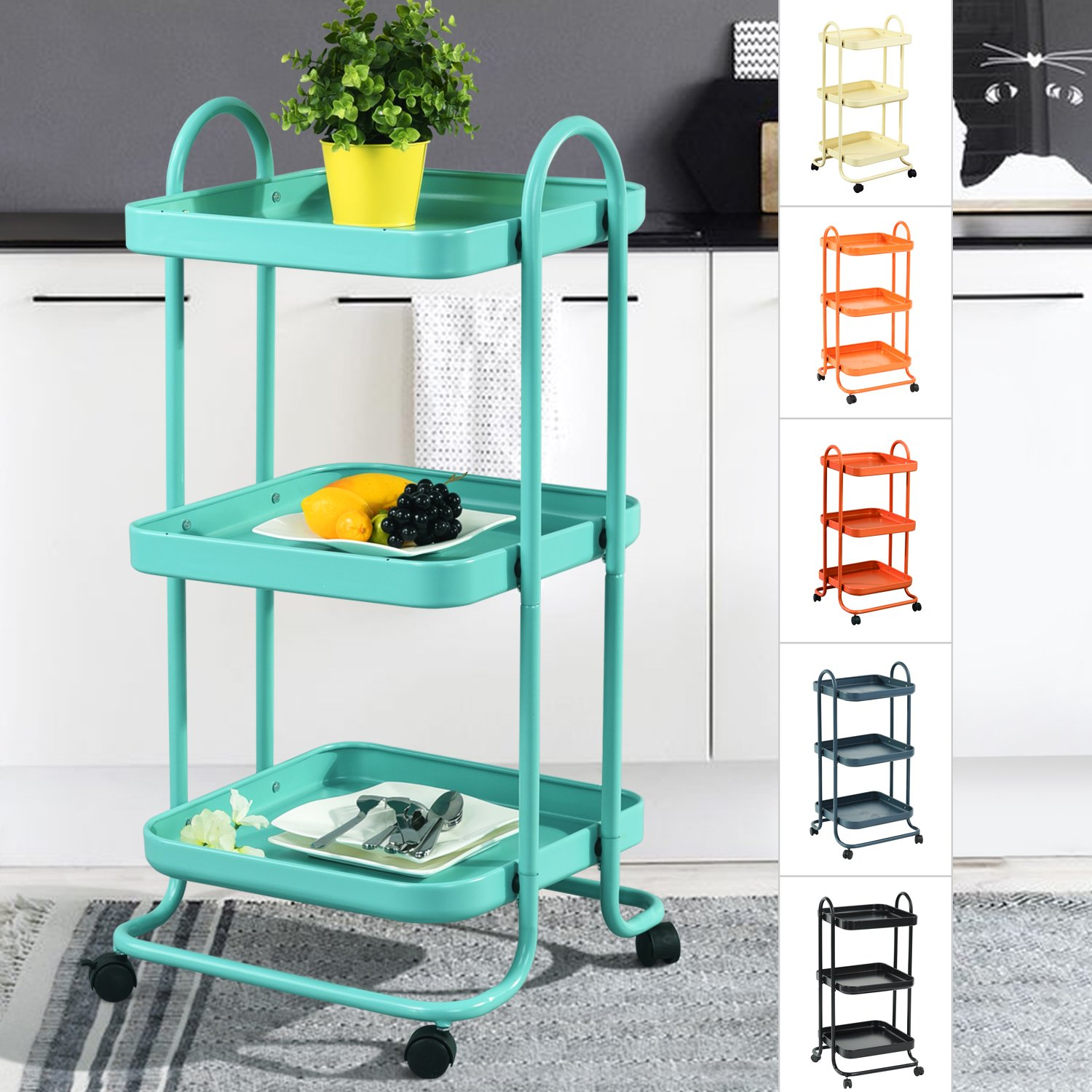 Cheap 3 Tier Kitchen Cart, find 3 Tier Kitchen Cart deals on line at ...