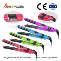 Pro Silk Ceramic Flat Iron,1 Inch LCD Display Hair Straightener free sample