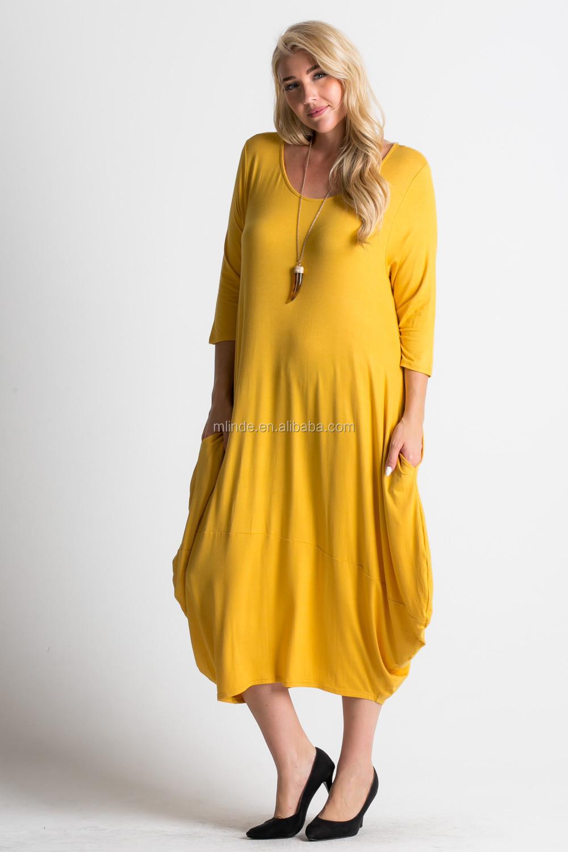 85f52597f73f378 Мусульманки длинное платье стиль сплошной горчичного цвета макси платье  Плюс XXXL негабаритных Джерси свободного кроя Оптовая