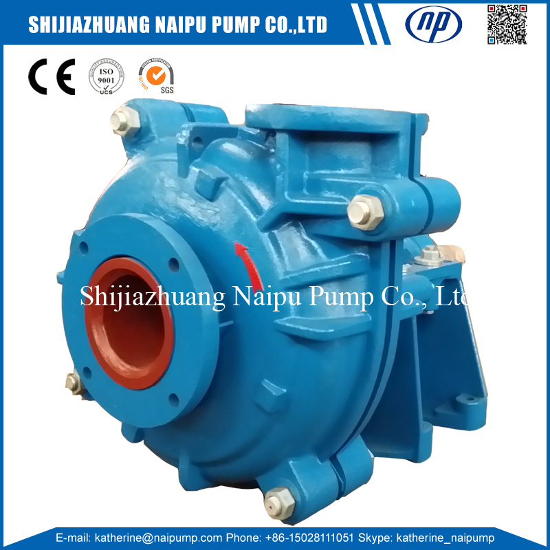 Naipu 600TL Heavy Duty FGD Desulfurization Pump for Power Plant