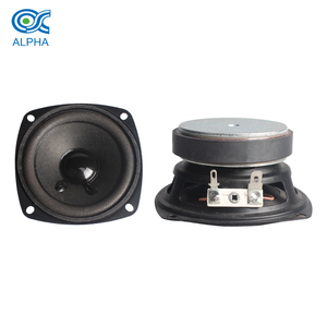 3 inch audio system speaker 4 ohm audio component horn subwoofer 5W
