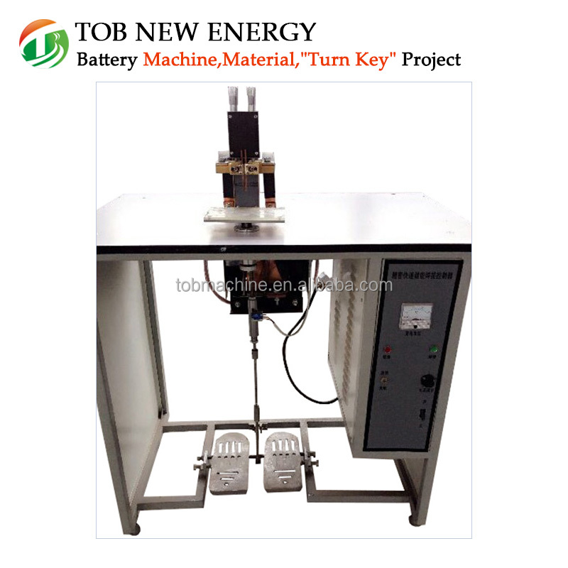 Laboratory Ultrasonic Metal Spot Welder machine for Lithium Ion Battery Welding