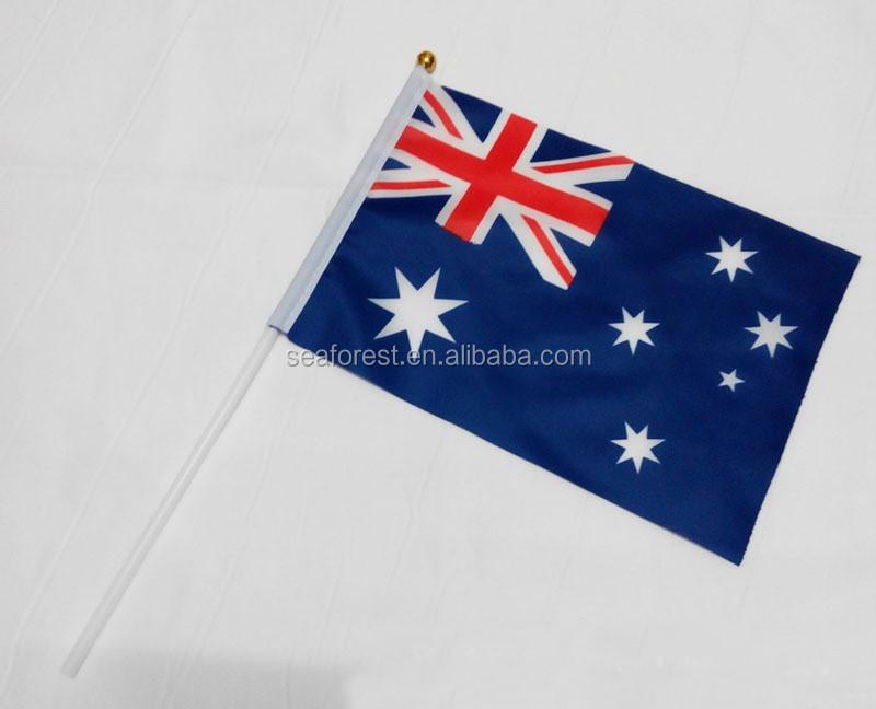 Australia Country Flag Hand Held Flags,Custom National Hand Waving ...