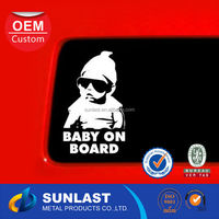 customized waterproof pvc Car Sticker Vinyl for Car Window Decoration OEM359