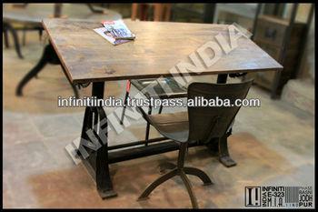 Antique Drafting Desk