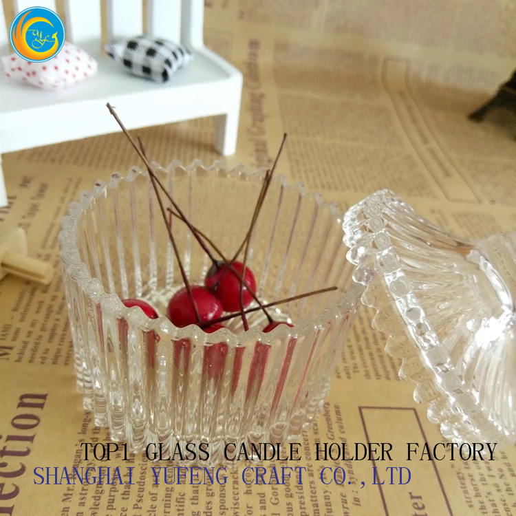 glass candle holders candy for sale yufeng craft