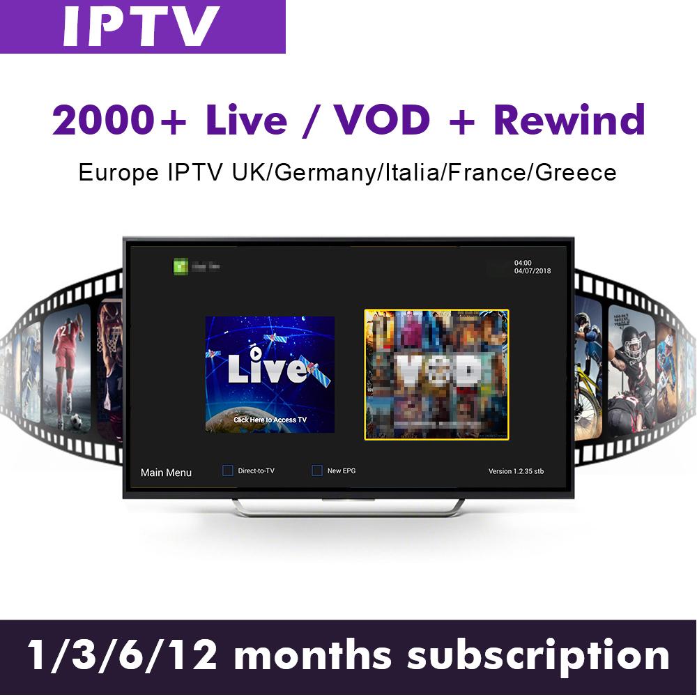 Eutv USA Canada Latino Germania Canali M3U rivenditore pannello di Abbonamento Rinnovare UK sport Per Adulti iptv conto per android tv box