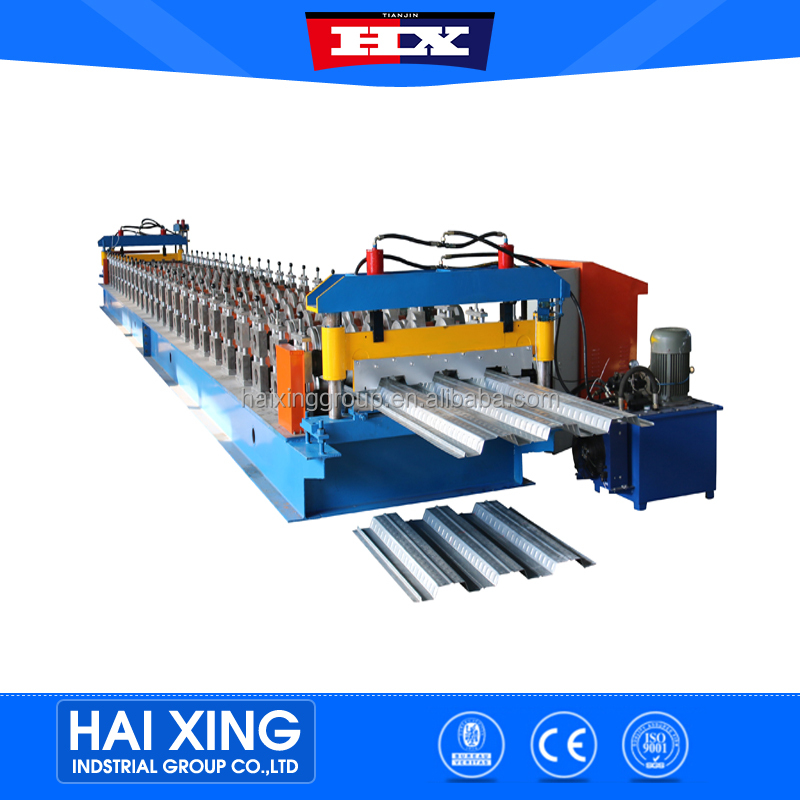 full automatic metal floor deck decking tile ceiling roll forming making machinery