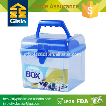 Exceptionnel Clear Decorative Plastic Storage Box Makeup Mini Box