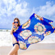 Floral Chiffon Sarong Scarf Dress Wrap Cover up Pareo Beach Bikini Swimwear