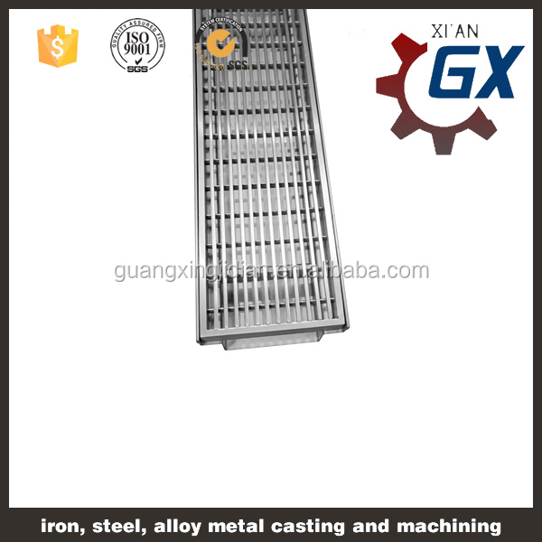 China Manufacturers suply floor drain with stainless steel cover