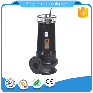 7.5hp water pump hot sale engine water pump submersible effluent pump for dirty water