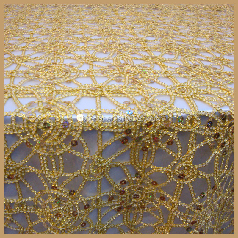 Tl001a Made In China Chemical Lace Cheap Wedding Table