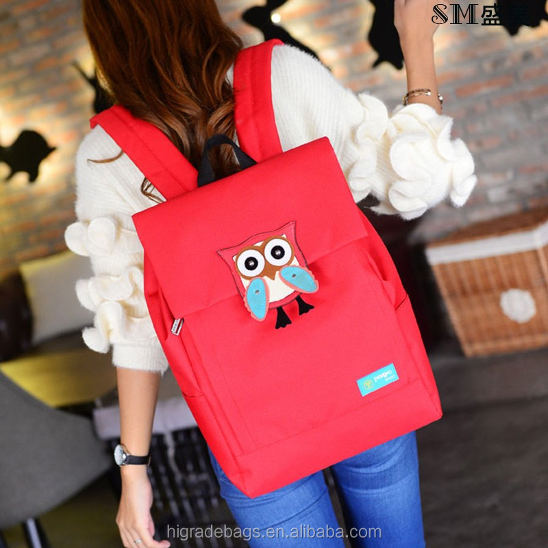 cute cartoon custom backpack school bag
