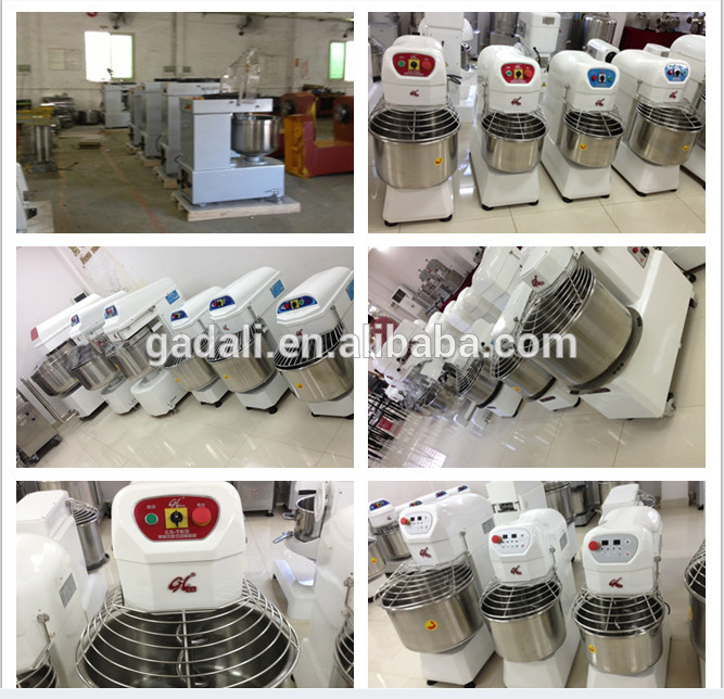 Industry directly supply spiral kitchen cake mixer