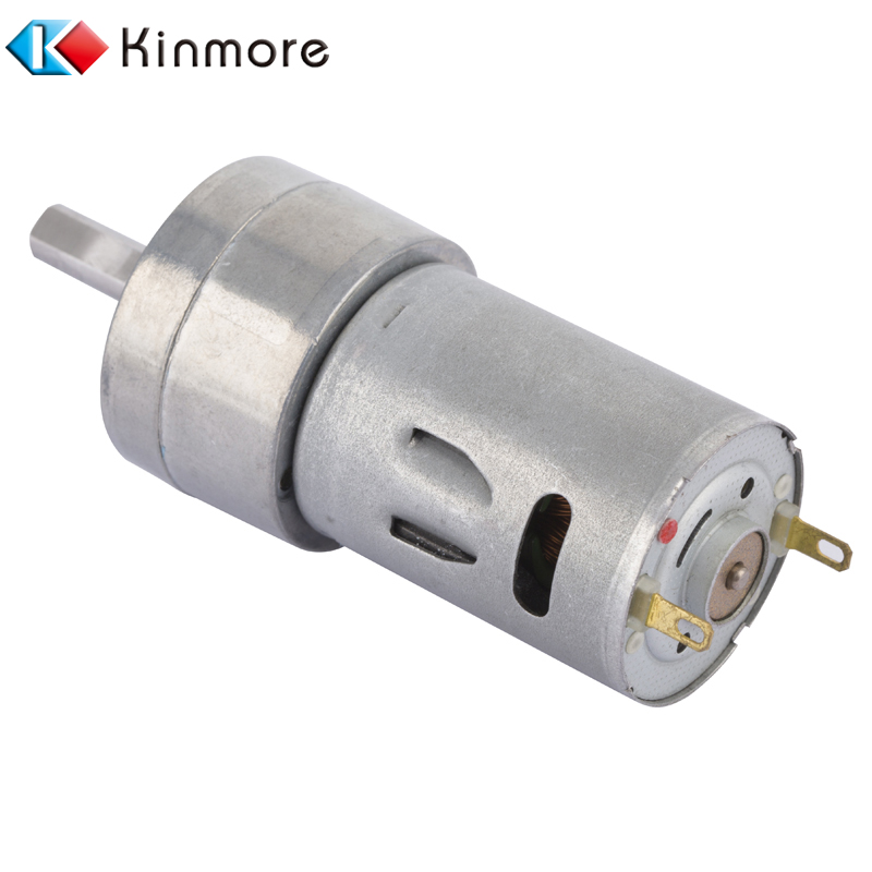 1 Rpm Double Shaft DC Gear Motor With 32MM Small Gearbox