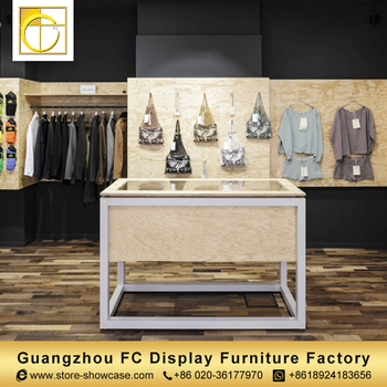 Beau 2018 Modern European Furniture Cloth Shop Counter Table Design Clothing  Store Furniture Garment Shop Interior Design