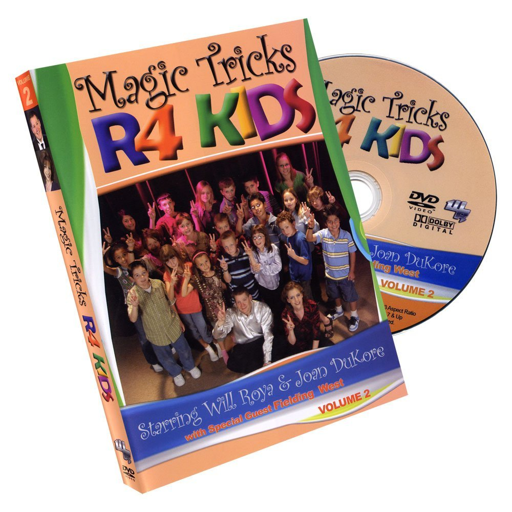 "Murphy's Magic ""Magic Tricks R 4 Kids"" Volume 2 by Will Roya and Joan DuKore DVD"