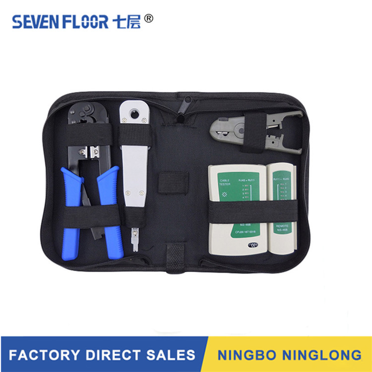 Professional Electronic Utp Cable Crimping Tool, Rj45, Rj11, Cat5 Computer Network Tool Kit