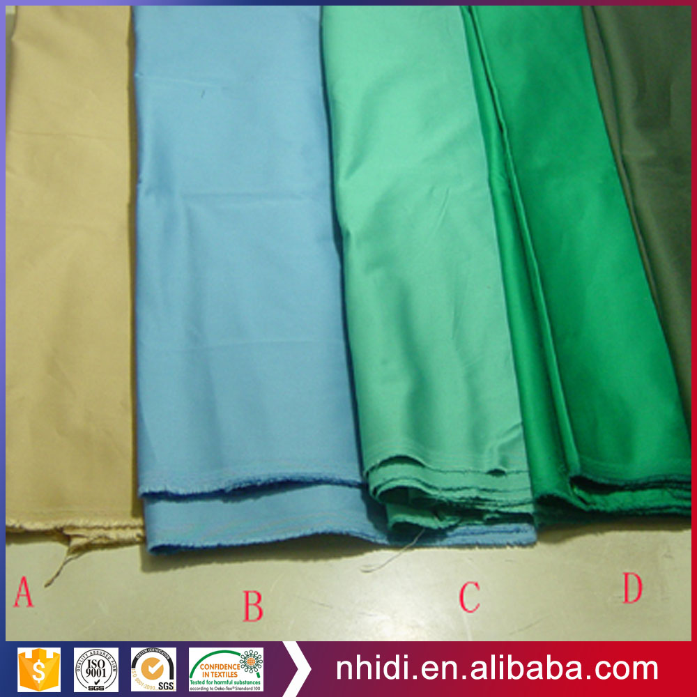 97% cotton 3% lycra dyed woven elastic pant fabric twill