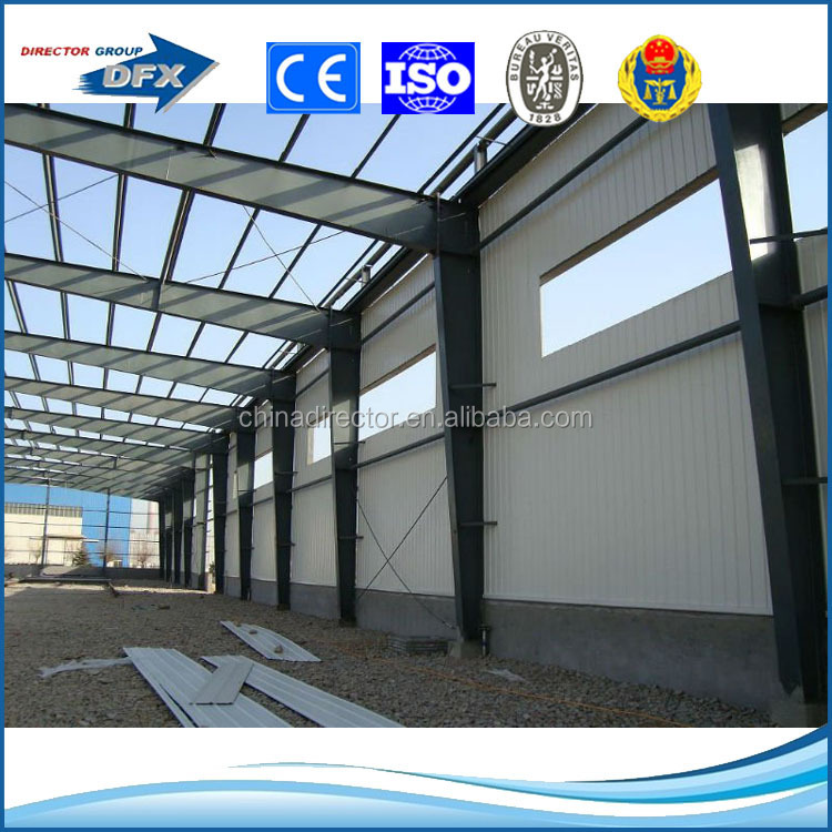 Industrial Shed Designs Prefab Wide Span Steel Structure