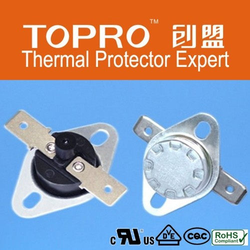 Электромеханические регуляторы температуры используется в различных бытовых электроприборах.