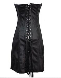 e7f6bcf8bbf Gothic Womens Corset Black Pvc