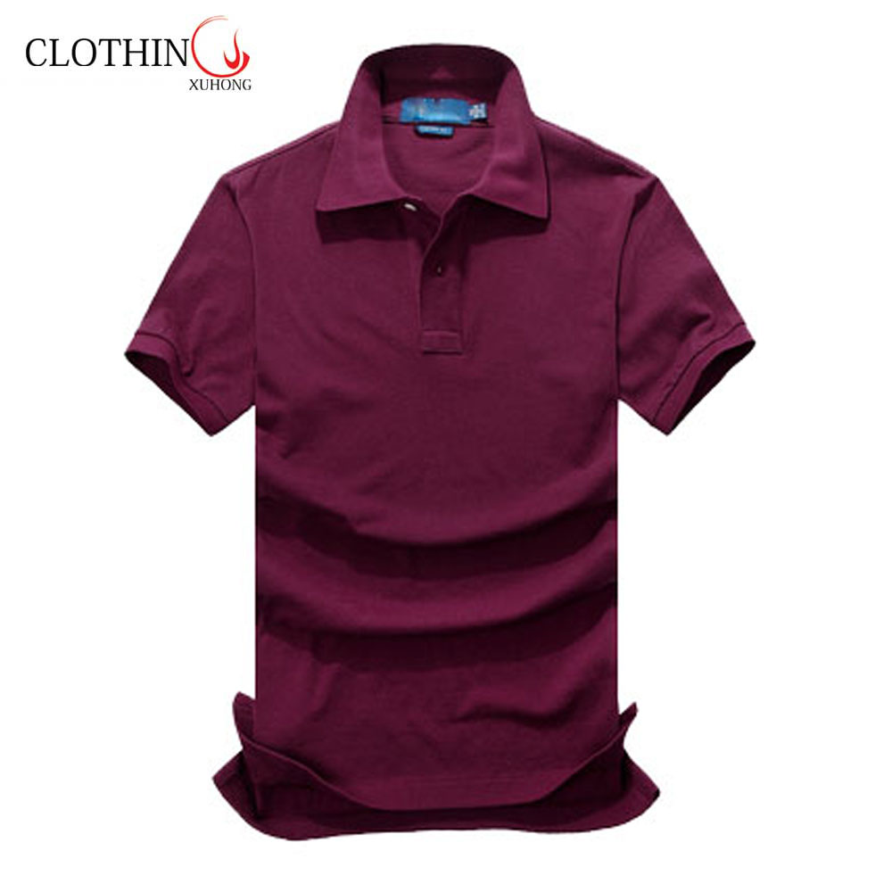 two buttons polo shirts loose casual unisex summer sport wear apparels