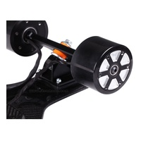 Newly hot selling 4 wheel electric skateboard with double brushless motor